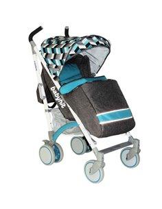 Детская коляска 2 в 1 Kunert Mila Premium Class 06 Серая