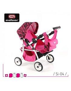 Пуховый конверт Ontario Baby Born флис (от +10°C до -20°C) розовый 325
