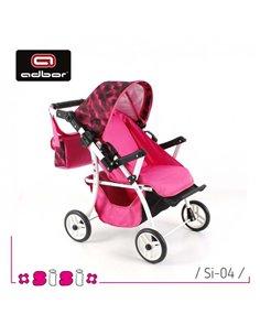 Комбінезон трансформер Ontario Baby Walk (от +10°C до -20°C) рожевий 335