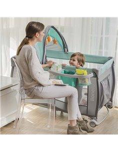 Пеленальный столик Ceba Baby Laura Зебра серый