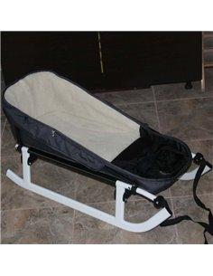 Автокрісло дитяче Lionelo Bastiaan Isofix сіре на чорній базі, 0-36 кг