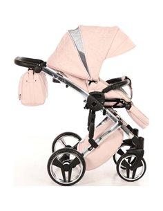 Детская прогулочная коляска 4Baby Moody 2020 светло серая