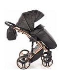 Дитяча прогулянкова коляска 4Baby Moody 2020 сіра