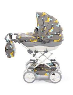 Детская коляска трансформер Ninos Bono yellow