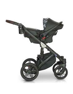 """Детская коляска 2 в 1 Jedo Bartatina, колеса 12"""" V24"""