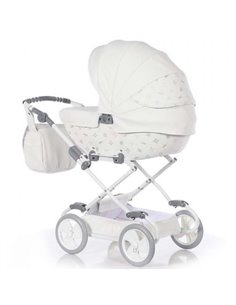 Детская коляска 2 в 1 Roan Bloom Classic black pearl