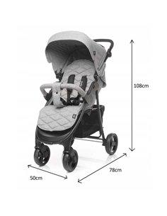 Детская коляска 3 в 1 Kinderkraft XMoov Blue