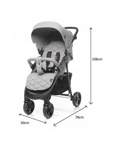 Дитяча коляска 3 в 1 Kinderkraft XMoov Blue