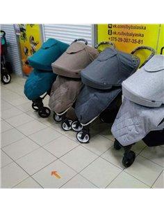 Дитяча коляска 3 в 1 Kinderkraft XMoov Grey