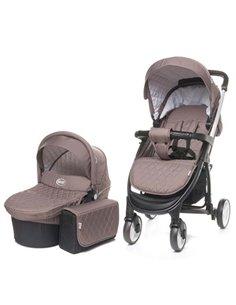 Детский постельный комплект Twins Dolce Insta 6 эл. D-510 Сердечки голубой с серебром