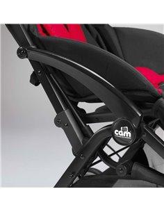 Универсальная коляска для двойни Tako Junama Diamond S-Line Red Duo Slim