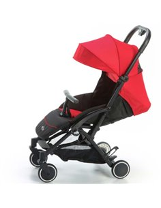 Детская коляска 2 в 1 Broco Smart Black