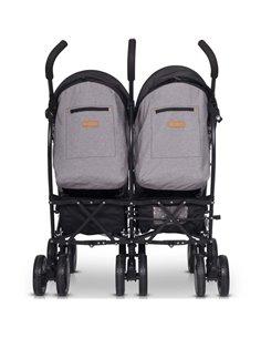 Детская коляска 3 в 1 Broco Avenue 01 Grey-Pink