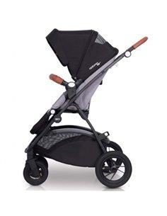 Детская коляска 2 в 1 Roan Bloom Eco Blue Pearl