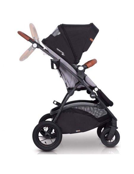 Дитяча коляска 2 в 1 EasyGo Optimo Air 2019 Grey Fox