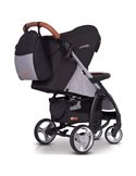 Детская коляска 2 в 1 Dsland V8 All Black