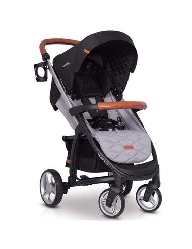 Детская коляска 2 в 1 Riko Side 01 Grey Fox