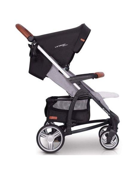 Дитяча коляска 2 в 1 EasyGo Virage Ecco 2019 Grey Fox