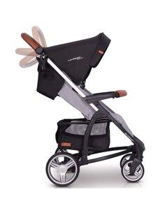 Детская коляска 2 в 1 Riko Side 05 Antracite
