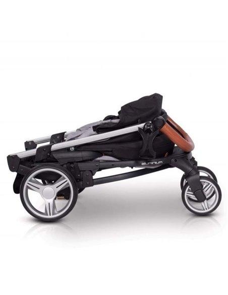 Дитяча коляска 3 в 1 EasyGo Virage Ecco 2019 Anthracite