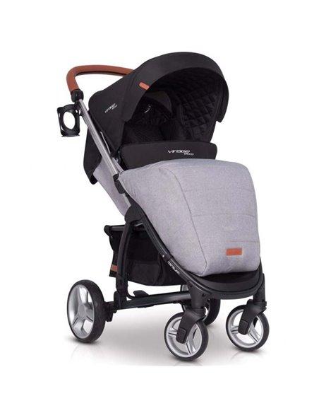 Дитяча коляска 3 в 1 EasyGo Virage Ecco 2019 Grey Fox