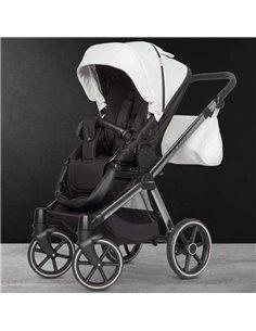 Детская коляска 2 в 1 Adamex Barcelona Polar Chrome BR615