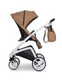Прогулянкова коляска для двійні EasyGo Domino 2020 Pearl