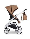 Прогулянкова коляска для двійні EasyGo Domino 2020 Cosmic Blue