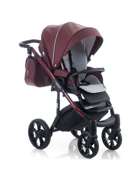 Детская коляска 2 в 1 Adamex Erika 401W