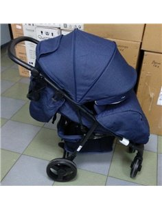 Дитяча прогулянкова коляска (опція: коляска для двійні) Thule Sleek Shadow Grey