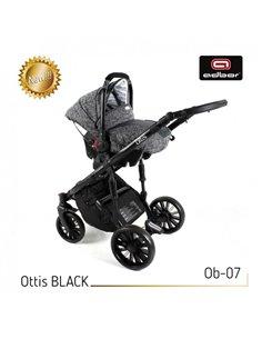 Автокресло детское Capsula MT5 Black, 15-36 кг