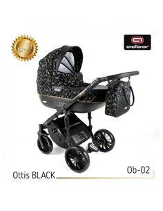 Автокресло детское Capsula JR4 Black, 15-36 кг