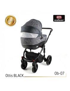Автокресло детское Capsula JR5 Black, 15-36 кг