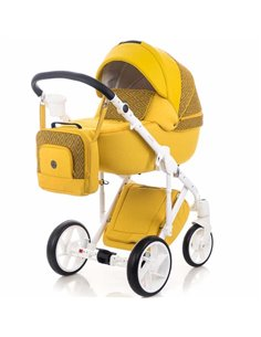 Шезлонг Kinderkraft Felio Yellow