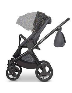 Детская прогулочная коляска EasyGo Optimo Air 2020 Basalt