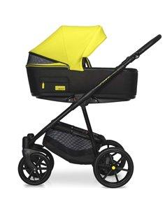 Детская коляска 2 в 1 Angelina Amadeo A-3 бордовая