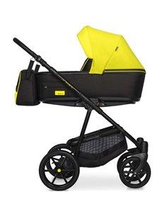 Детская коляска 2 в 1 Angelina Amadeo A-8 розовая