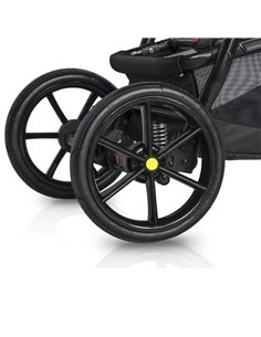 Детская коляска 2 в 1 Angelina Amadeo A-10 бирюзовая