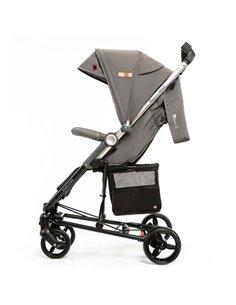 Детская коляска 2 в 1 ibebe i-stop IS18 бежевая, рама хром