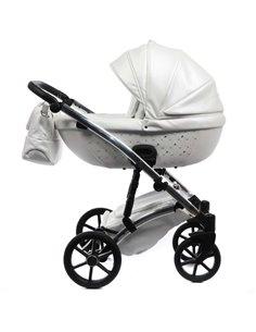 Детская коляска 2 в 1 Bair Star Copper Eco 01C капучино