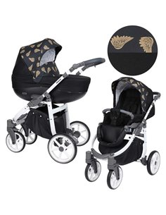 Дитяча змінна постіль Twins Premium Glamour Limited PGNEWM-14 Moon mint