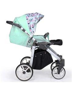 Дитяча змінна постіль Twins Premium Glamour Limited PGNEWR-14 Rabbits mint