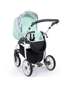Дитяча змінна постіль Twins Premium Glamour Limited PGNEWZ-10 Bunnies&Moon grey