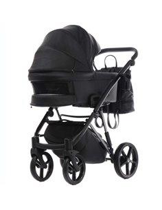 Дитяча коляска 3 в 1 Kinderkraft Moov Black