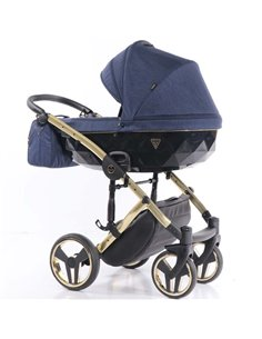 Детская коляска 3 в 1 Kinderkraft Moov Grey