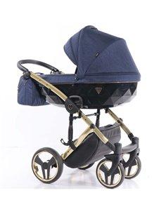 Дитяча коляска 3 в 1 Kinderkraft Moov Grey