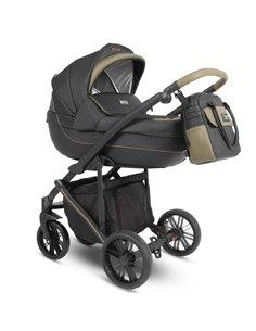 Детская коляска 2 в 1 Bebetto Flavio 08 желтая