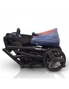 Дитяча коляска 2 в 1 Bebetto Nitello 09 круги