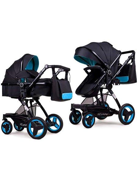 Дитяча коляска трансформер Ninos Bono blue
