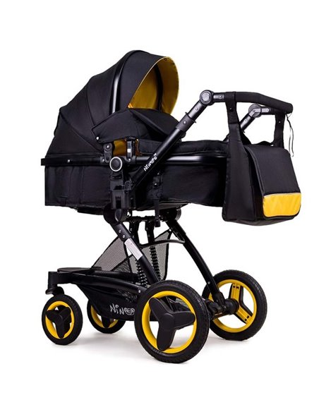 Дитяча коляска трансформер Ninos Bono yellow